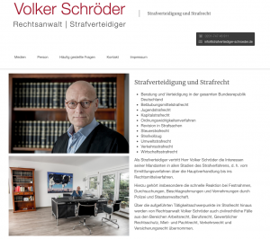 Strafverteidiger Schröder
